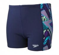 Speedo Electro Camo Aquashort boys' swimwear