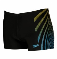 Speedo Placement HydroFocus Aquashort Black/Blue
