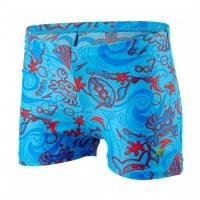 Speedo Seasquad Allover Aquashort Blue