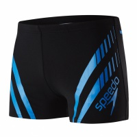 Speedo Sport Panel Aquashort Black/Blue