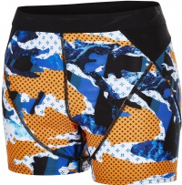 Speedo Stormza Sport Short Black/Fluo Orange/White