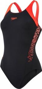 Speedo Boom Splice Muscleback Black/Red
