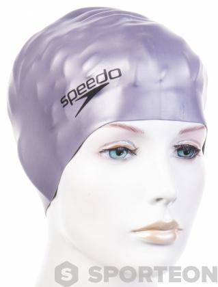 Speedo Plain Flat Silicon Swimming Cap