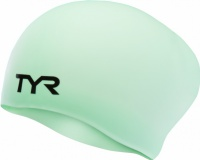 TYR Silicone Long Swimming Cap