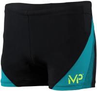 Michael Phelps Arkos Boxer Black/Turquoise