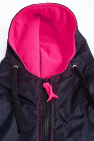 BornToSwim Parka Black/Pink