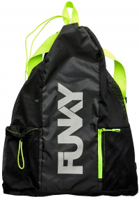 Funky Night Lights Gear Up Mesh Backpack