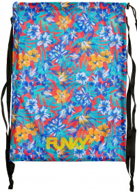 Funky Aloha From Hawaii Mesh Gear Bag