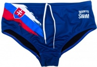 BornToSwim SVK Brief Blue