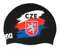 Arena Moulded Cap Czech Flag