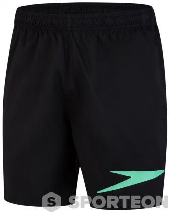 Speedo Sport Logo 16 Watershort Black/Green Glow