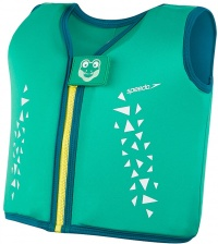Speedo Croc Float Vest Cosmos/Emerald/Aqua Mint