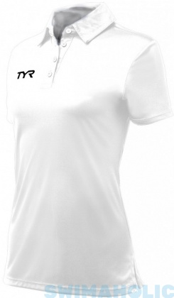 Tyr Alliance Coaches Polo Female White
