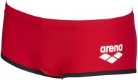 Arena One Biglogo Low Waist Short Red/Black