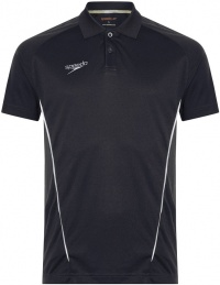 Speedo Dry Polo Shirt Black