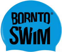 BornToSwim Classic Silicone swimming cap