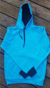 BornToSwim Sweatshirt Hoodie Turquoise