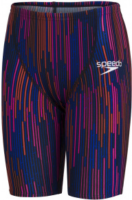 Speedo Fastskin Endurance+ High Waisted Jammer Boy Black/Dragonfire Orange/Punchy Pink/Blue Flame