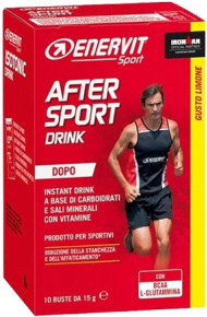 Enervit After Sport Drink Lemon 10x 15g