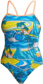 Funkita Summer Bay Eco Single Strap One Piece