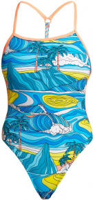 Funkita Summer Bay Eco Twisted One Piece