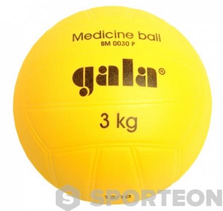 Plastic medicine ball 3 kg
