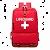 Lifeguard backpacks and bags