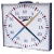 Swimming clock and blackboard